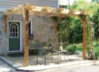 Breeze Cedar Pergola 12' x 12' – Attached (2 Post)