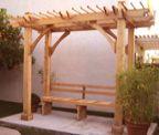 Breeze Cedar Pergola 5′ x 11′