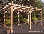 Breeze Cedar Pergola (6 Post)