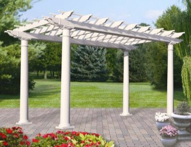 Homeplace Resin Pergola Image 2