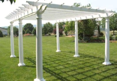 Homeplace Resin Pergola