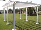 Homeplace Resin Pergola (4 Sizes Available)