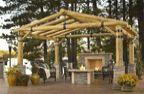 Montana Fiberglass Pergola 12′ x 12′