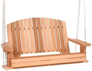 Cedar Pergola Garden Swing