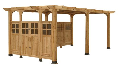 Sierra Pergola 10' x 10' Extension Kit