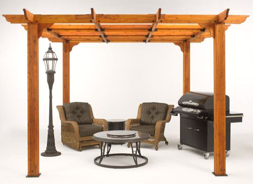 Sierra Pergola (Redwood)