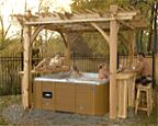 Spa Breeze Cedar Pergola 11′ x 9′