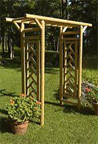 Tahawus Cedar Garden Pergola