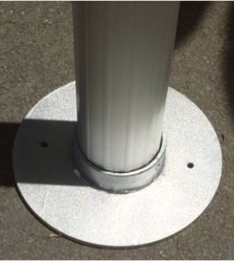 Vifah Contemporary Aluminum Pergola Image 2